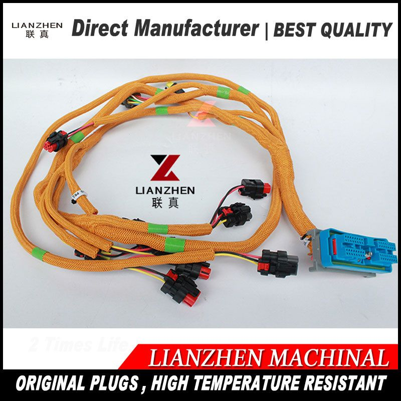 Excavator Sapre Replacements Electric Parts E320d Cat320d Cat 320d Engine Wiring Harness 296 4617 296461 Electrical Equipment Electricity Vehicle Jumper Cables