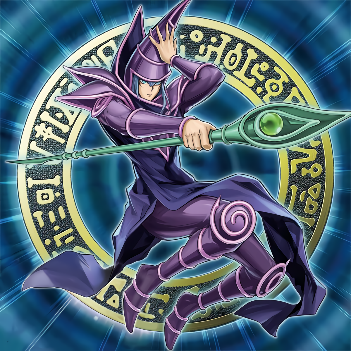 Dark Magician Rush Duel By Omgitsjohannes On Deviantart Dark Magician Cards The Magicians Yugioh Monsters