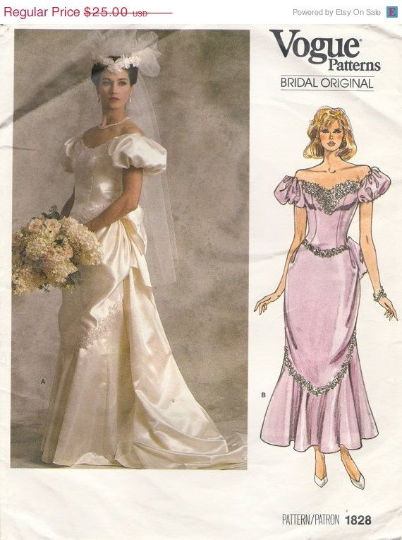 vogue 1828 | za wedding / formal sewing patterns | Pinterest