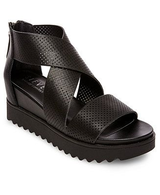 0793bb25b19 STEVEN by Steve Madden Klein Wedge Sandals - Sandals   Flip Flops - Shoes -  Macy s