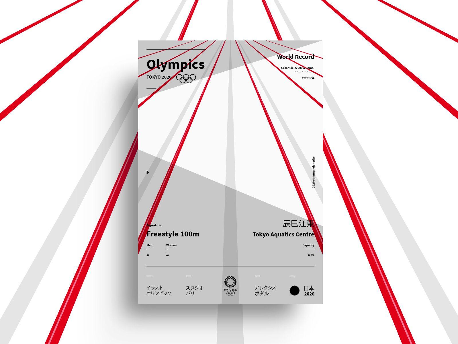 OLYMPICS Tokyo 2020 Poster Series 🇯🇵 | Poster series ...
