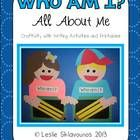 Who Am I? All About Me Craftivity