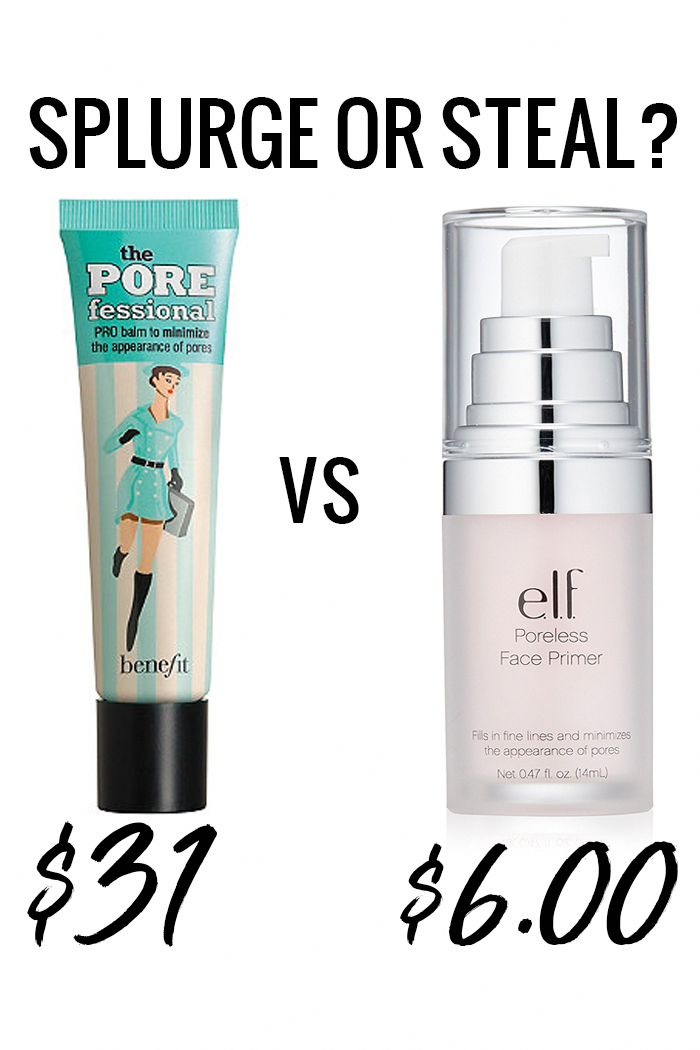 Benefit Porefessional dupe - try the elf Poreless Face