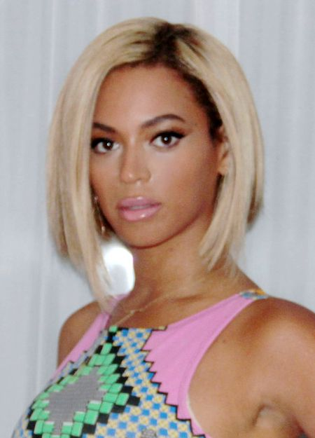 Pictures Beyonce S Hair Style Evolution Beyonce New Bob