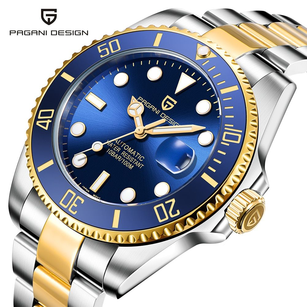 Relogio Masculino Pagani Design Top Brand Automatic Mechanical Men Watch Sports 100m Waterproof Spo In 2020 Luxury Watches For Men Watches For Men Mechanical Watch Men