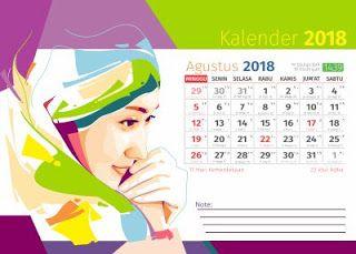 Download Kumpulan Desain Kalender 2018 Format Cdr ...