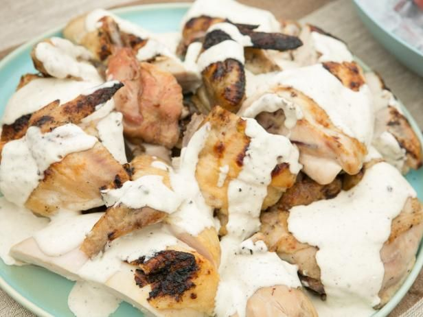Grilled Chicken With Alabama White Bbq Sauce Recipe Food