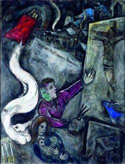 """""""Il faut se décider"""" Où l'on rencontre les deux amours de Chagall."""