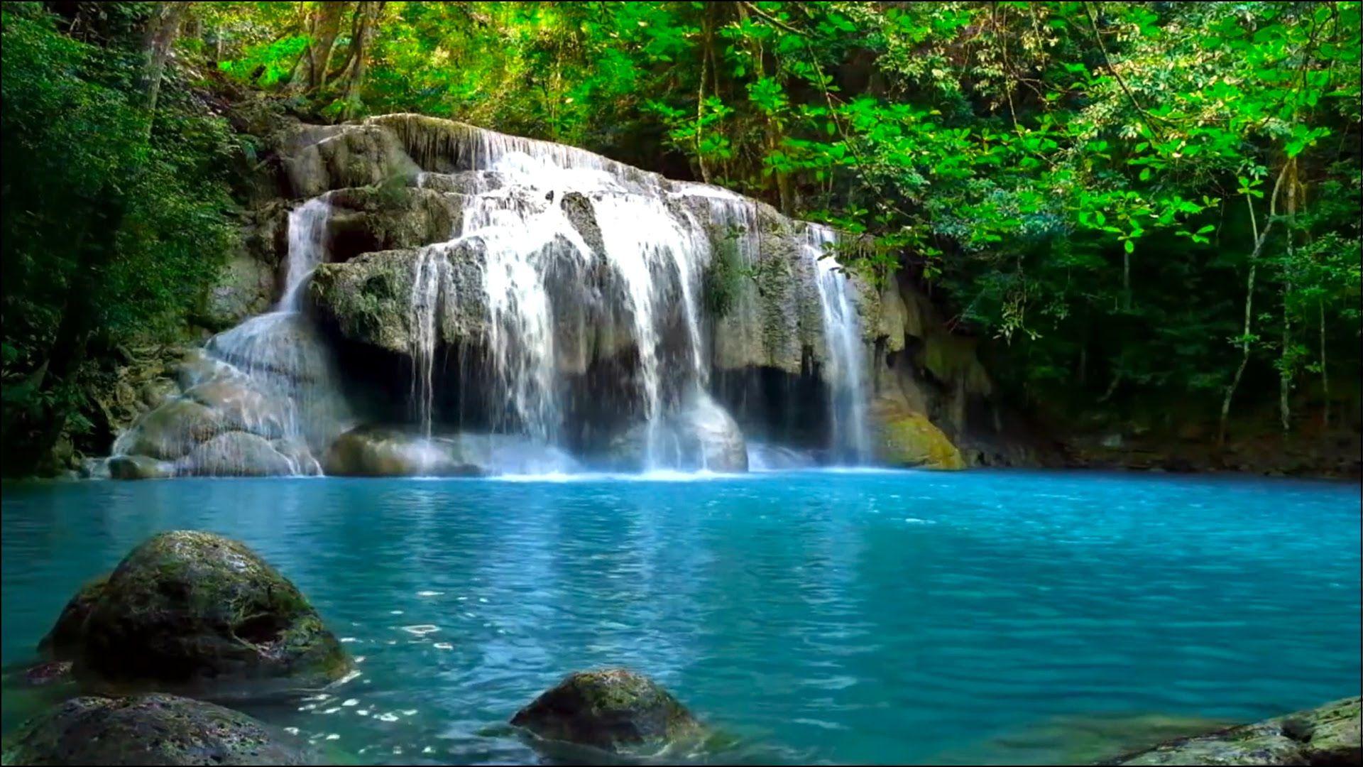 Waterfall jungle sounds relaxing tropical rainforest nature waterfall jungle sounds relaxing tropical rainforest nature sound ccuart Image collections