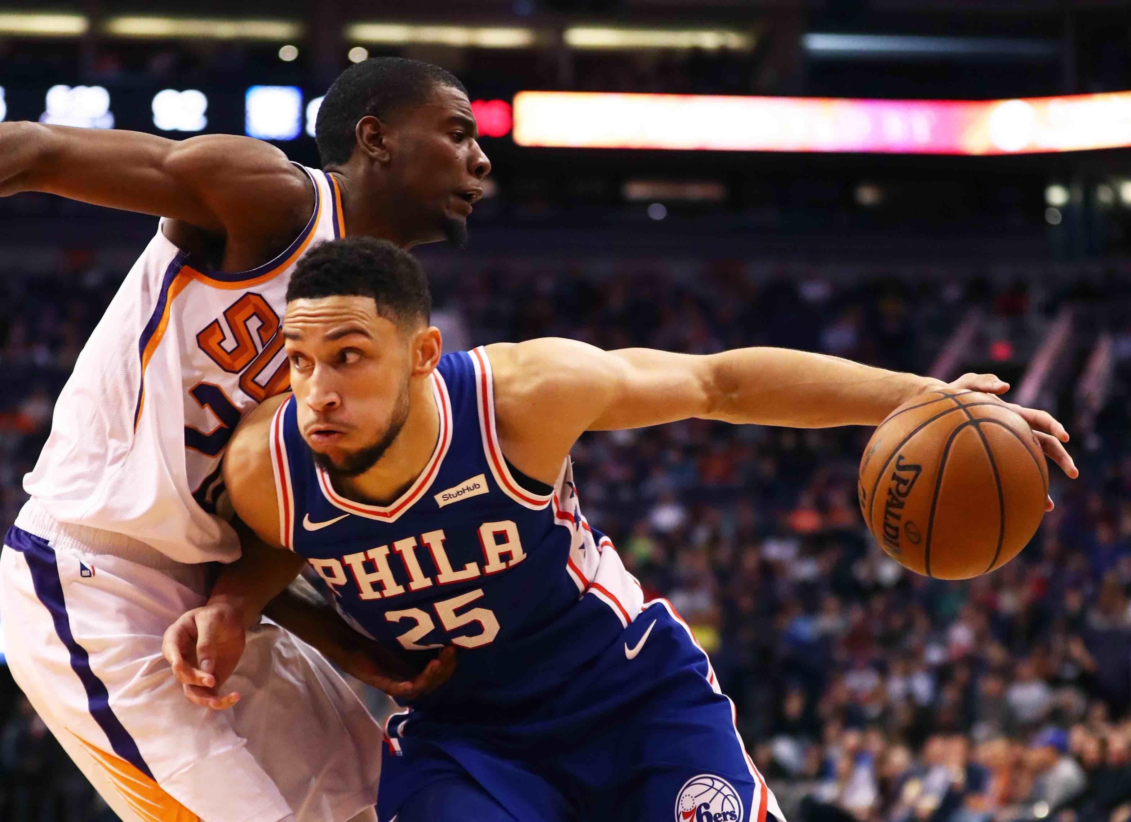 NBA AllStar Starters Ben Simmons snubbed 94 WIP