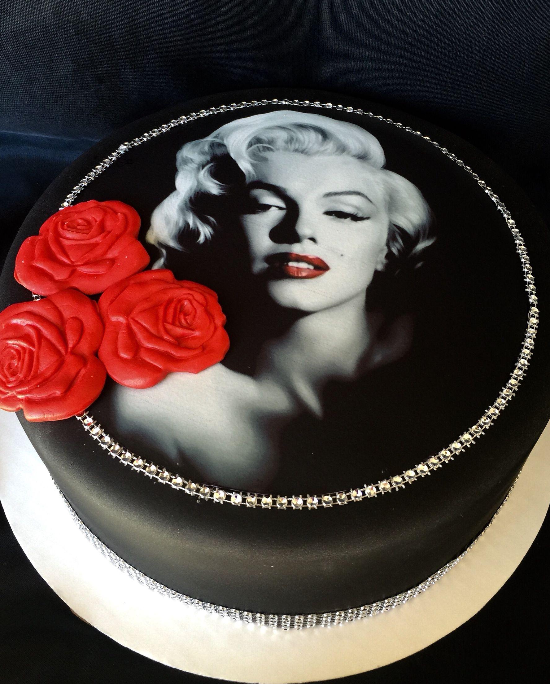 Marilyn Monroe Cake With Images Marilyn Monroe Birthday