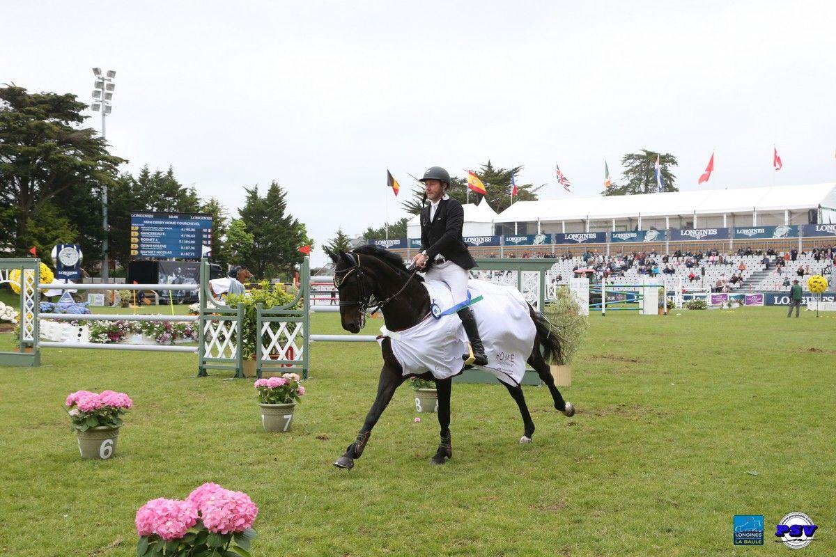 Epreuve n°12 | Jumping International La Baule  CSI 1* Big Tour - Mini Derby Home Courchevel 1m25  Le Vainqueur : Eric Vigeanel !