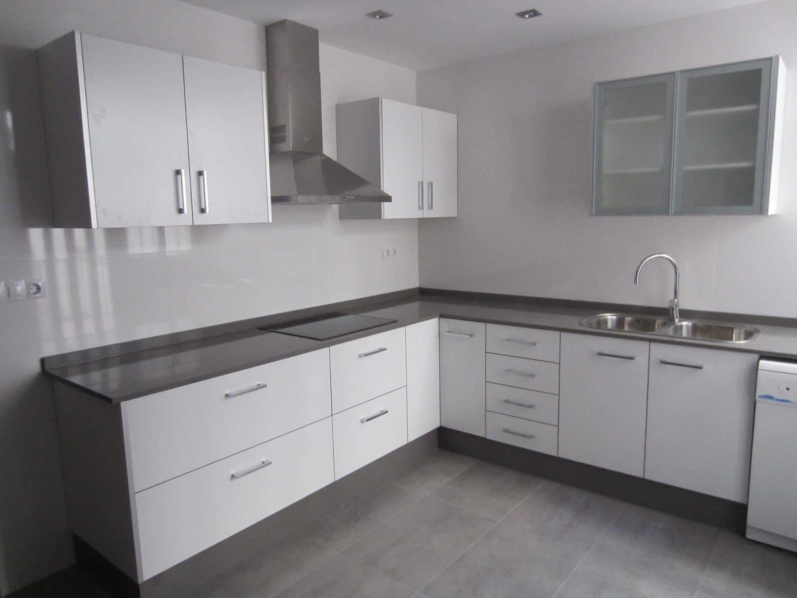 mueble+cocina+blanco+brillo.JPG (1600×1200) | Cocina | Pinterest ...