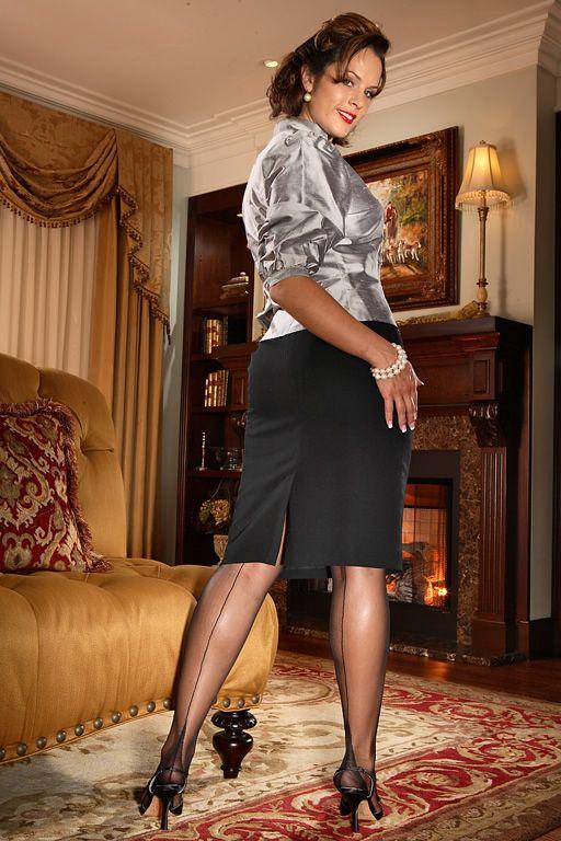 Premier French Heel Black I Love Secrets In Lace
