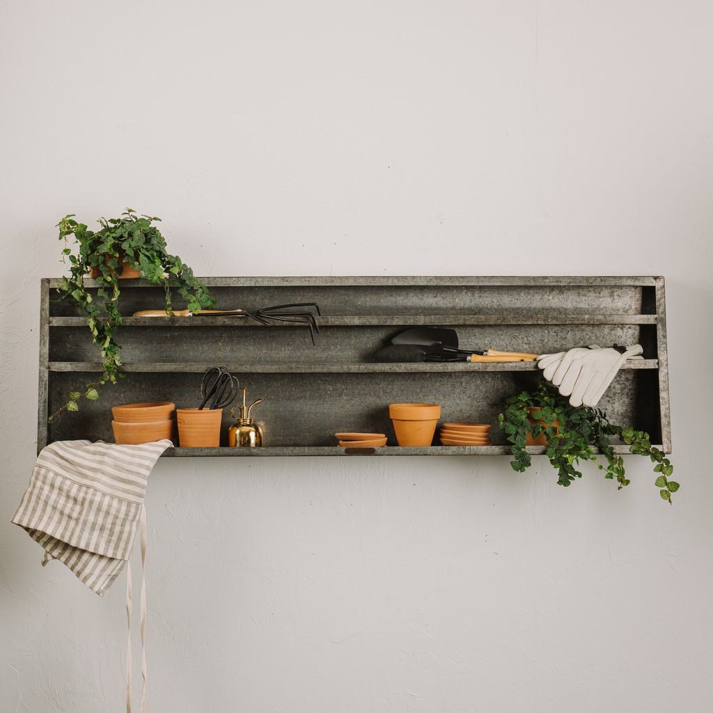 Pin By Jessie Evans On Household Fluff Metal Wall Shelves Metal