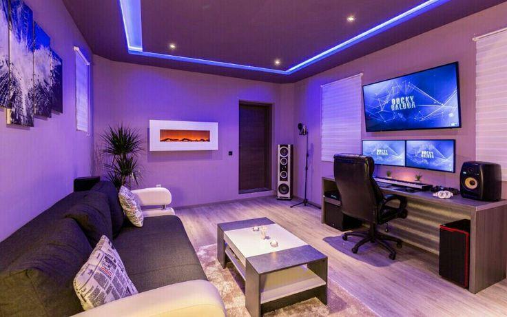 Garage Conversion Room Setup Gamer Room Game Room Design