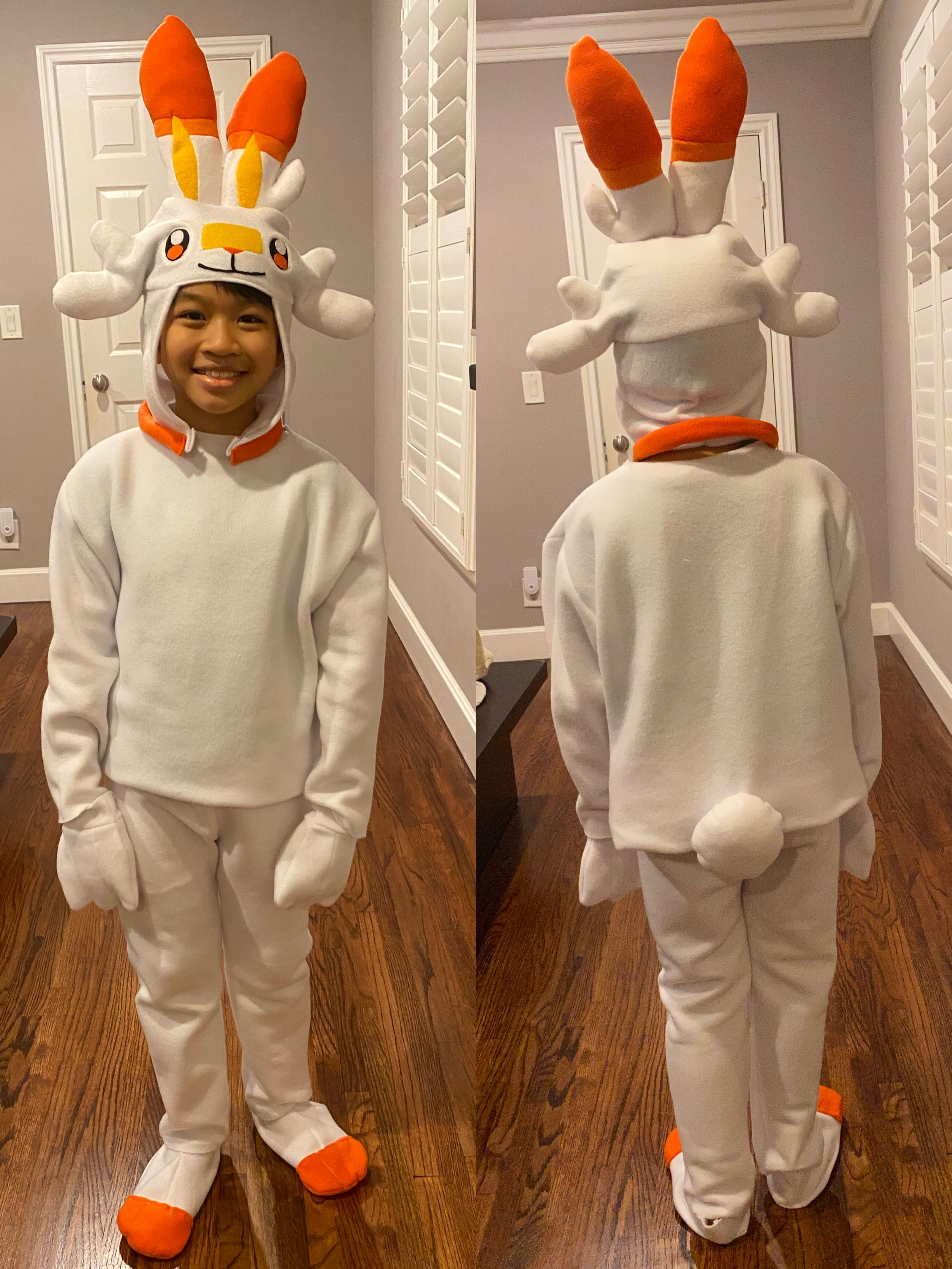 Scorbunny Pokemon Costume Pokemon Costumes Homemade Halloween Costumes Halloween Costumes