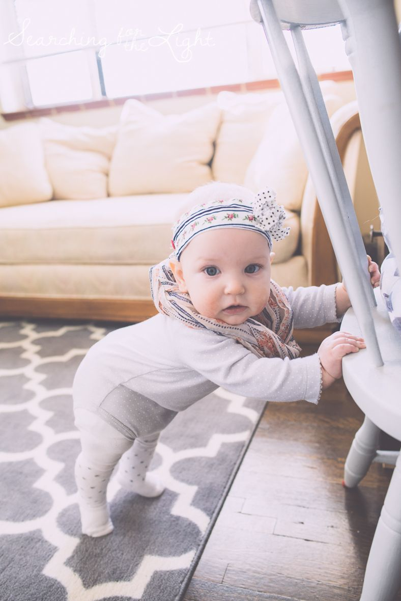 What can a child 7 months