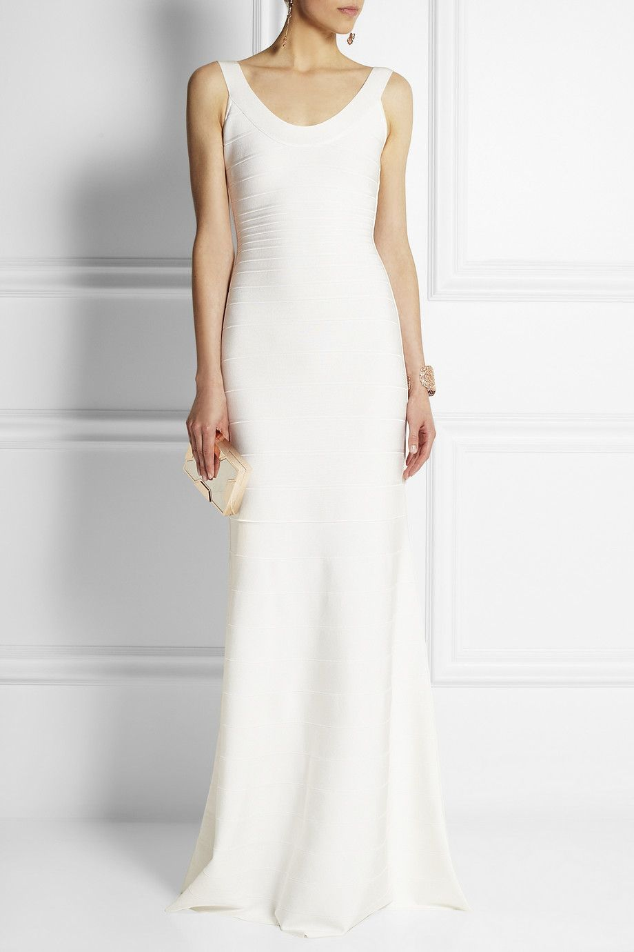 Hervé Léger   Ellen bandage gown (reception dress)   Say Yes To The ...