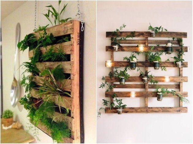 idee deco palette jardiniere suspendue entr e pinterest jardini re suspendue jardini res. Black Bedroom Furniture Sets. Home Design Ideas