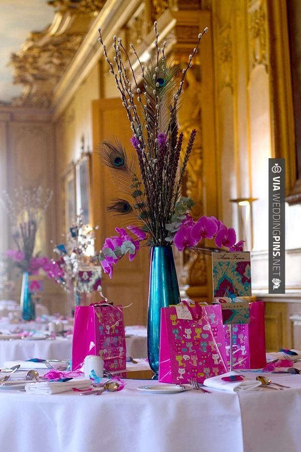 Wow Turquoise And Fuchsia Wedding Samantha Hook Photography Check Out More Great Pink