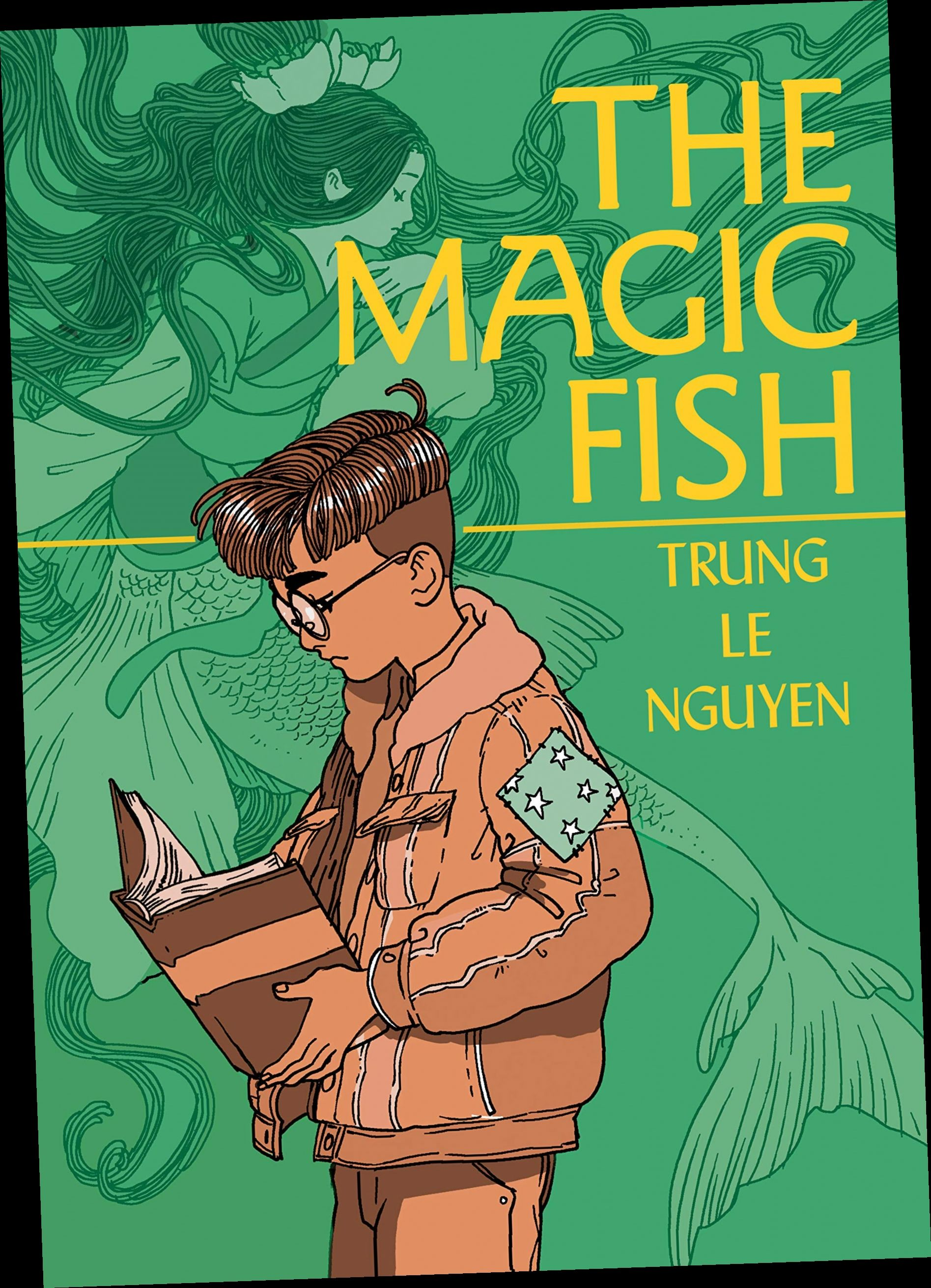 Ebook Pdf Epub Download The Magic Fish By Trung Le Nguyen Graphic Novel Books Comic Book Artists