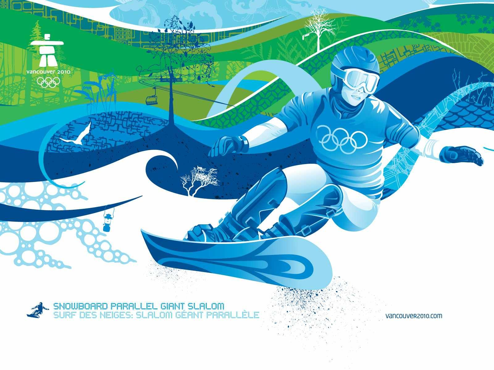Vancouver 2010 Snowboard Parallel Giant Slalom Winter Olympic Games Winter Olympics Snowboard