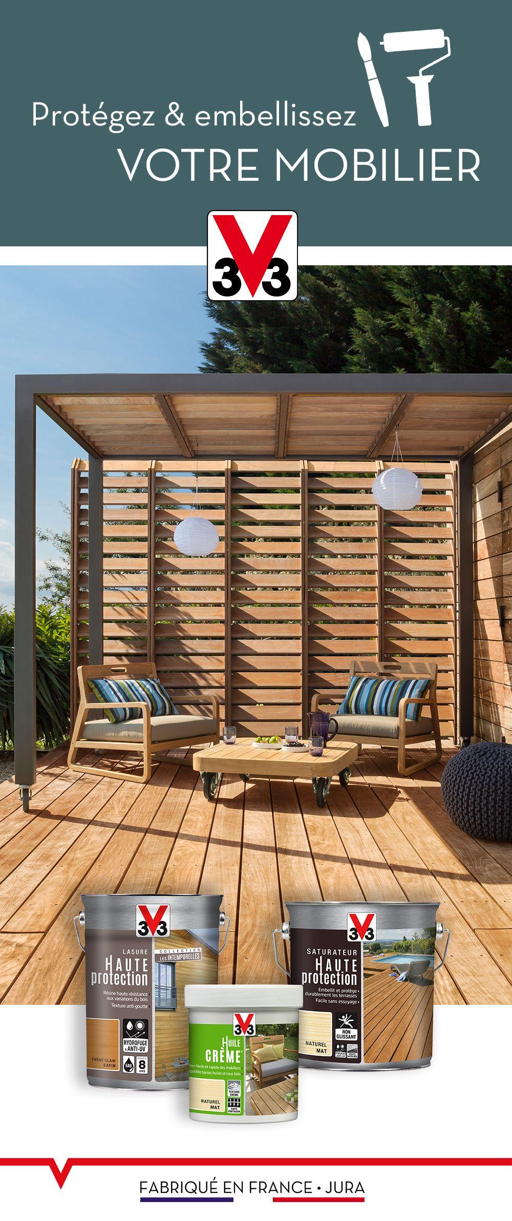 Les tons bois naturels sont à l\'honneur sur cette terrasse ...