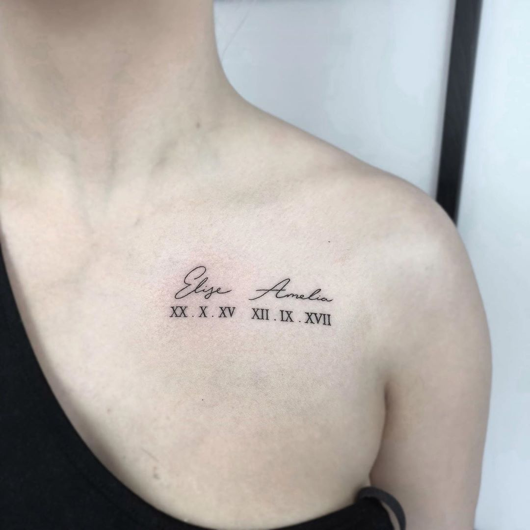 Photo of 100+ Roman Numeral Tattoos That Will Mark Your Most Memorable Date