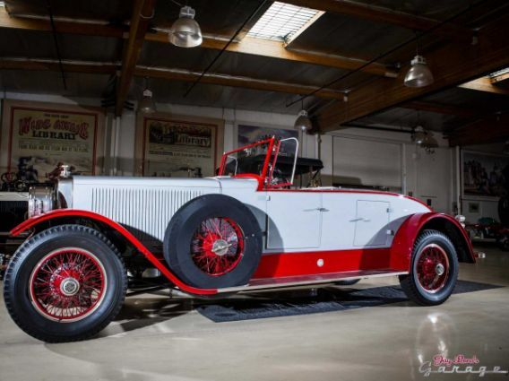Jay Leno S 1925 Doble Steam Car Was Once Owned By Howard Hughes In