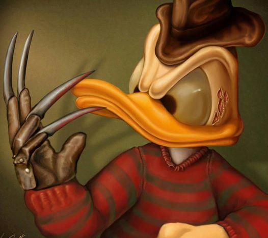 Mashup Freddy Krueger - Donald
