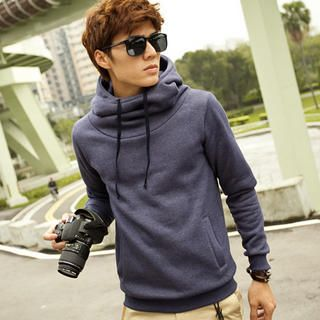 Buy 'Free Shop – High-Neck Hooded Pullover' with Free ...