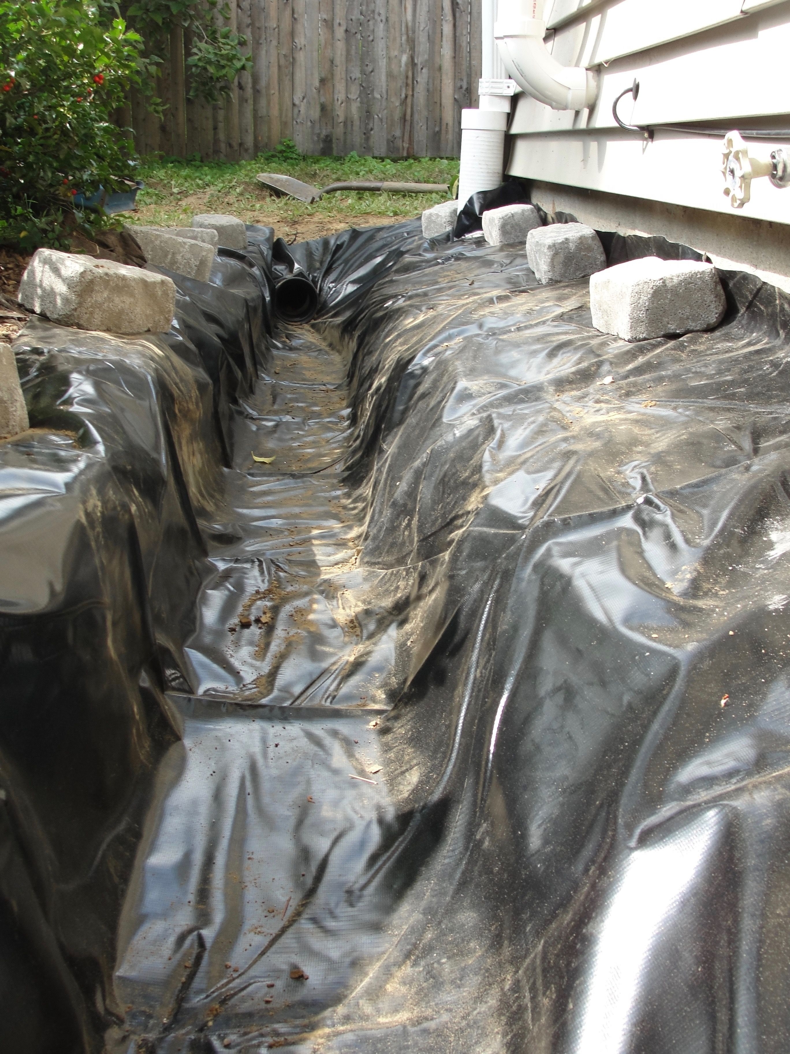 Foundation French Drain System Installation Foundation Waterproofing And Water Drainage Solutions Drainage Solutions French Drain French Drain Installation