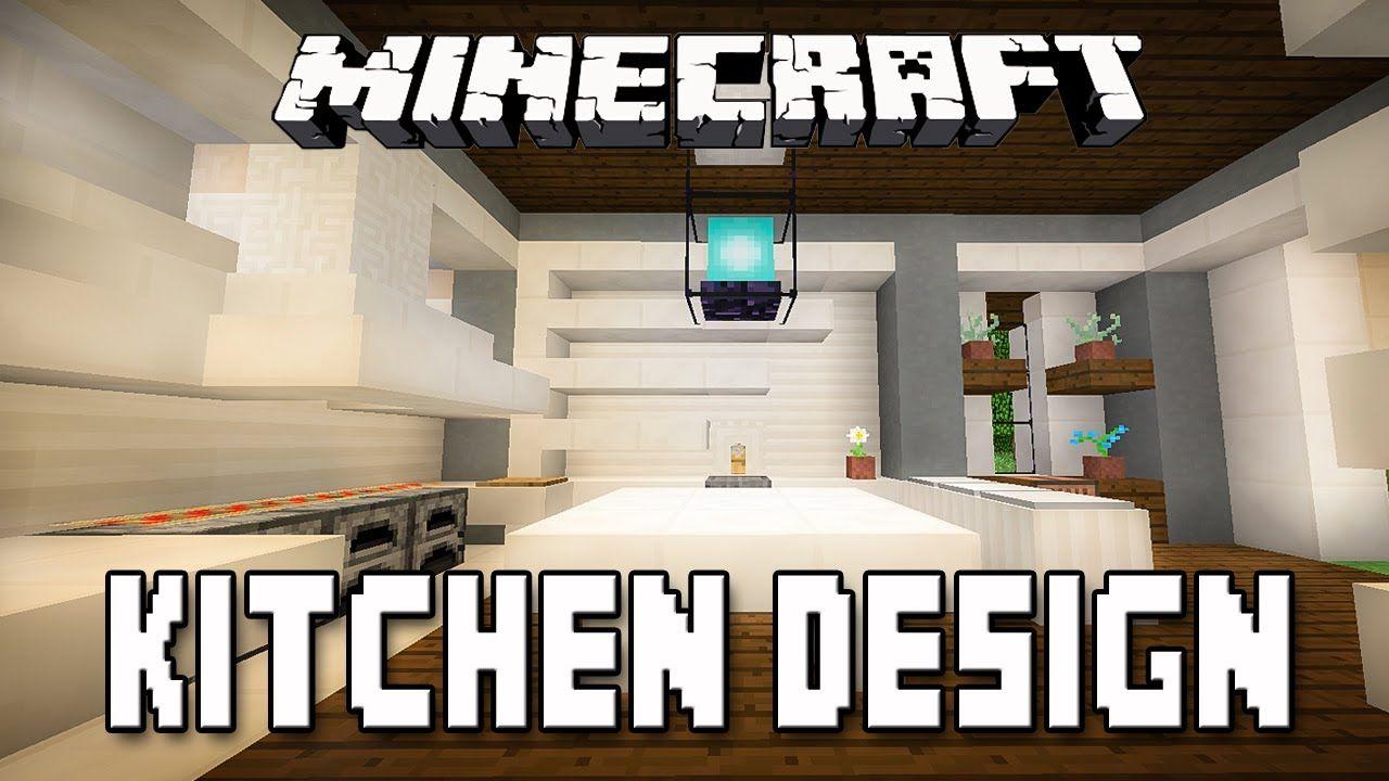 Minecraft Tutorial: Modern Kitchen Design (How To Build A ...