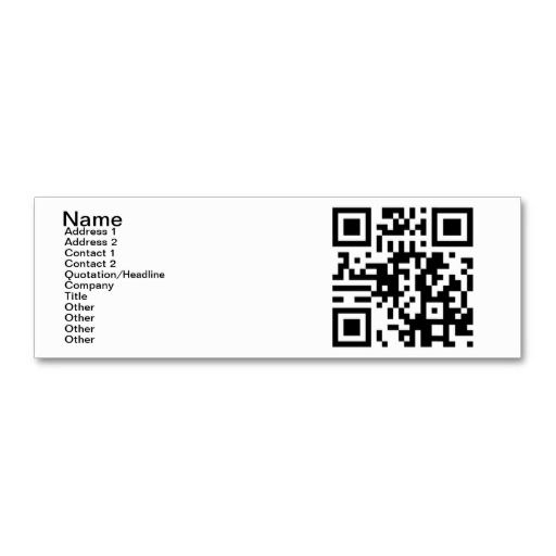 Qr code yes i am single mini business card qr codes qr code yes i am single business card template fbccfo Image collections