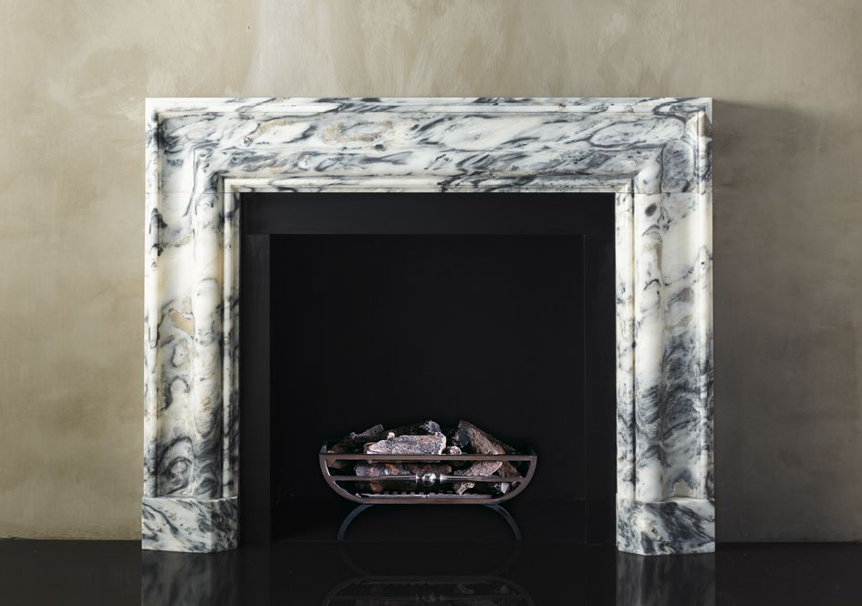 The Milo Bolection In Old Ocean Stone Fireplace Mantles Family