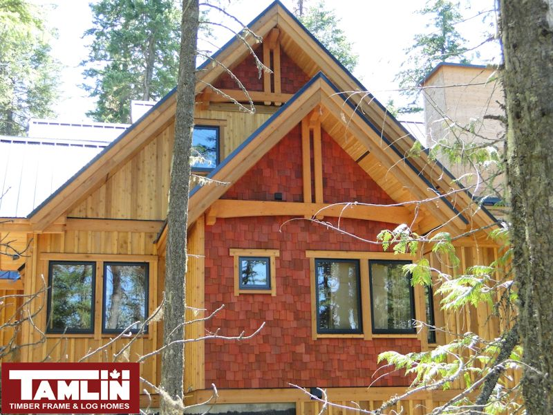 Kootenay Lake   Black windows, Prefab and Cabin