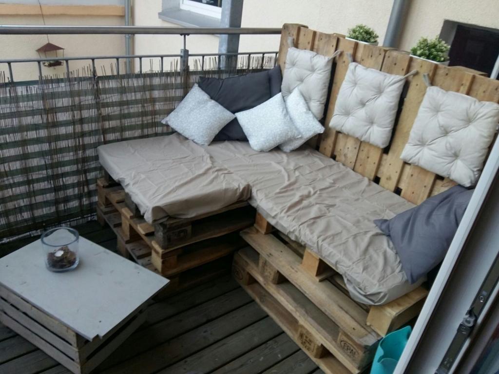 Hier Mal Wieder Eine Weitere DIY Variante Einer Schonen Balkon Dekorierung Schone Garnitur Aus