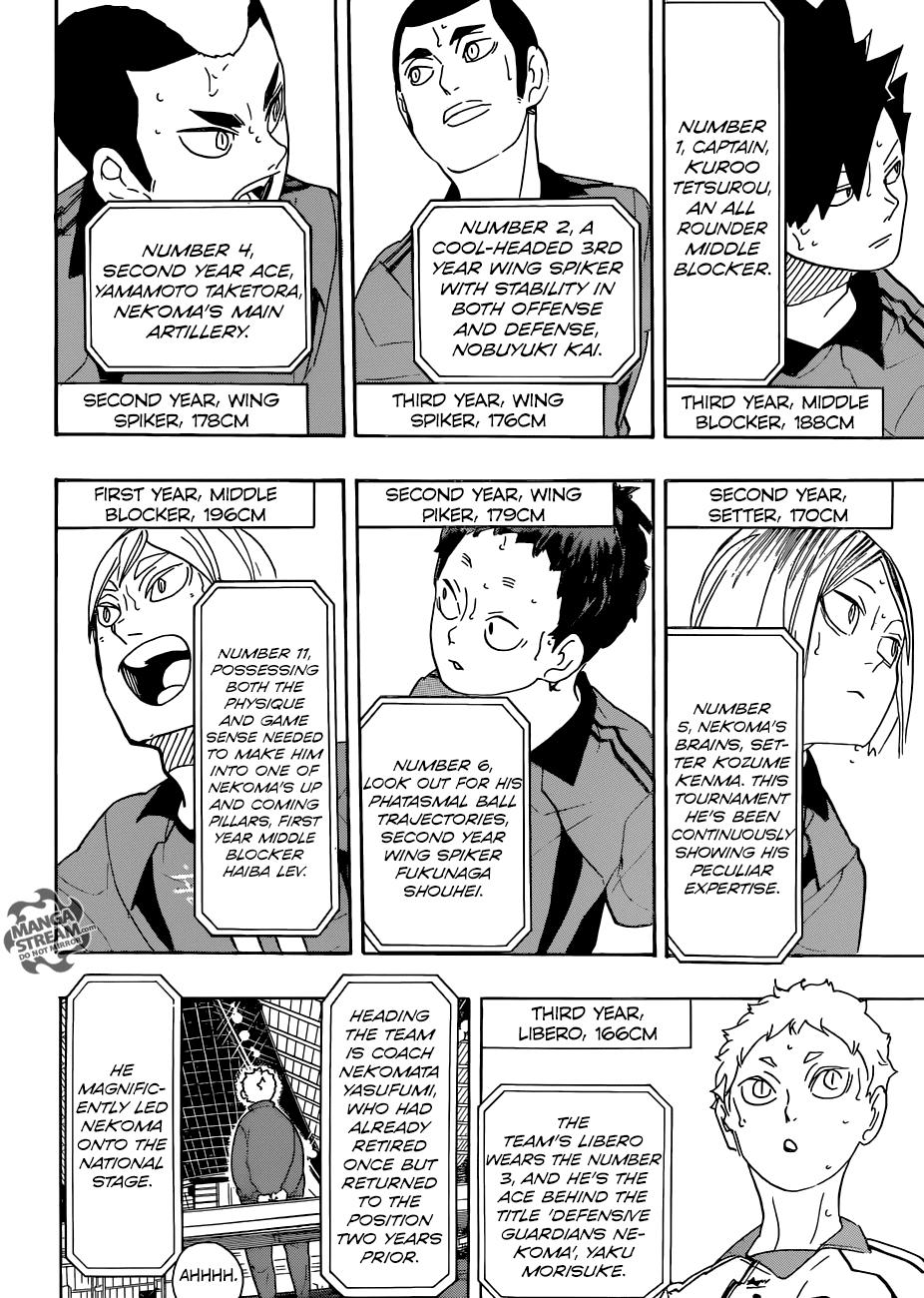 Read Manga Haikyuu 293 The Promised Place Online In High Quality Haikyuu Haikyuu Manga Manga