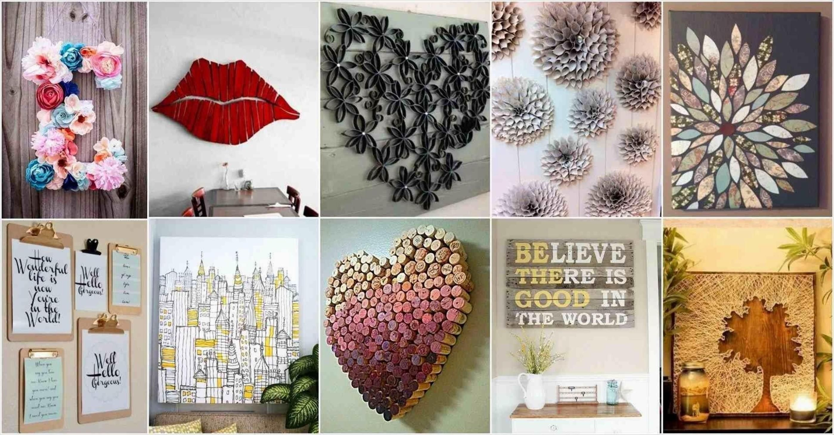 Diy 33 Creative Wall Decorating Ideas On A Budget Creative Wall