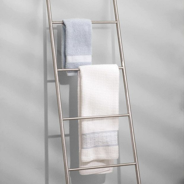 Chic Home Decor Pieces To Buy At Bed Bath And Beyond Free Standing Towel Rack Towel Ladder