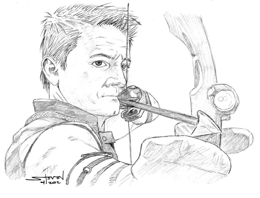hawkeye colouring pages - Google Search | Avengers | Pinterest ...