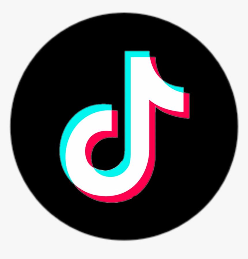 Tiktok Logo Wallpaper Logo Aplikasi Hitam Dan Putih Desain Pamflet