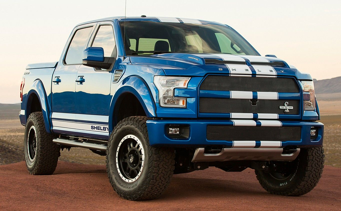 Presented At The Ongoing Sema Show In Las Vegas The Shelby F 150