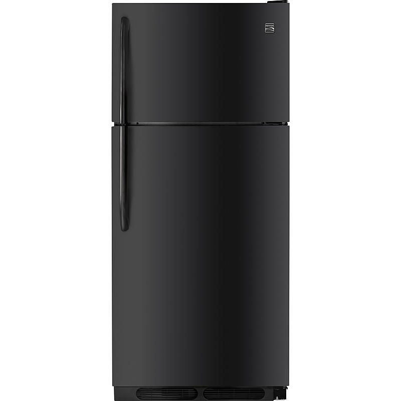 Kenmore - 60419 - 18 cu. ft. Top Freezer Refrigerator w/ Wire ...