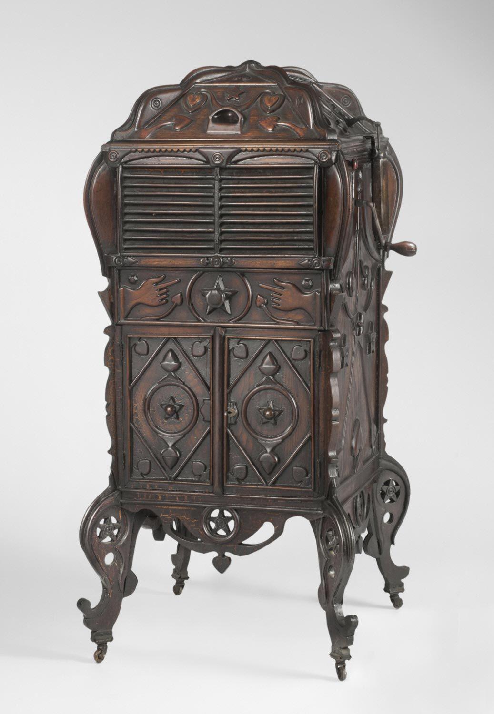 Victrola Cabinet William Plummer American