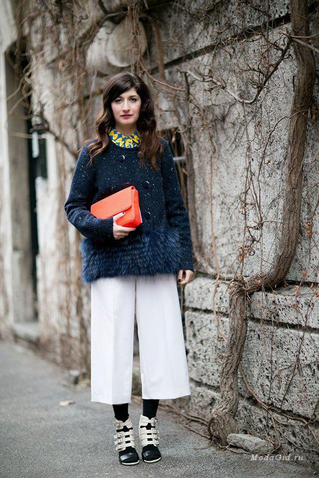 Уличная мода  Неделя моды в Милане сезона осень-зима 2015-2016  уличный  стиль 2289930fe9f