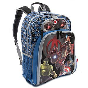 Marvel's Avengers: Age of Ultron Light-Up Backpack - Regular - Personalizable | Backpacks & Lunch Totes | Disney Store