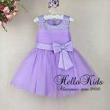 cd9a92670 Resultado de imagen para vestidos para niña color lila