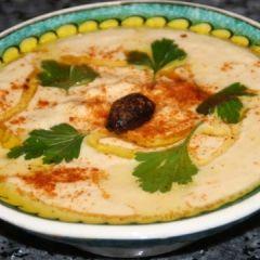 Turkish-Style Hummus